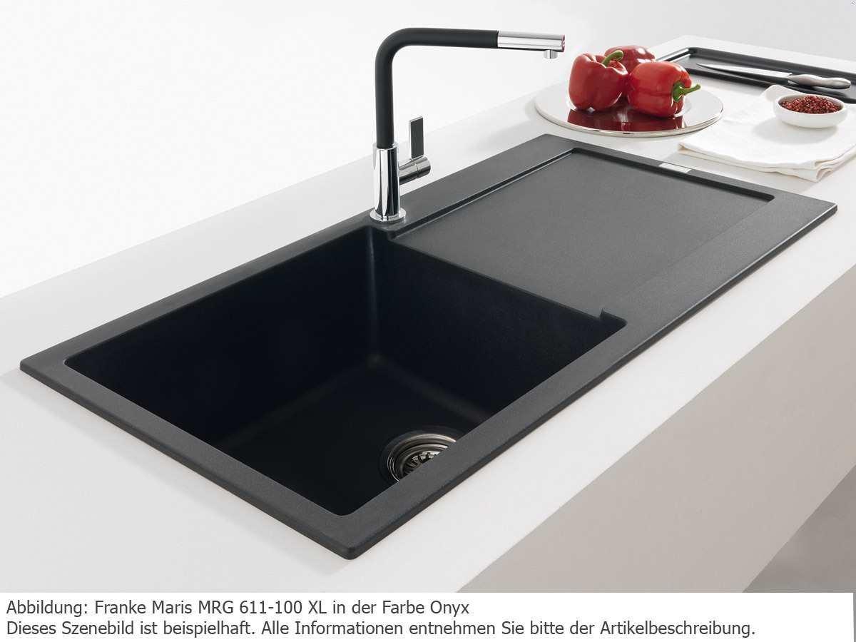 Franke Maris MRG 611-100 XL Chocolate Granitsp/üle K/üchensp/üle Einbausp/üle Braun