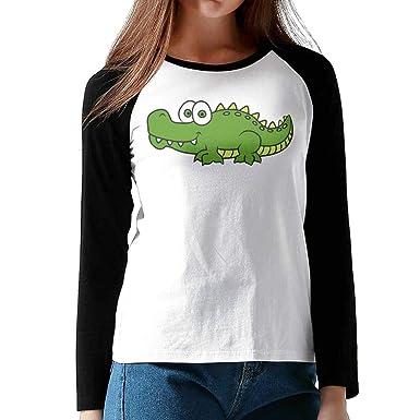 Amazon.com: Camiseta de manga raglán para mujer, cuello ...
