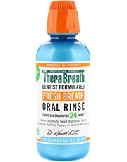 TheraBreath Dentist Recommended Fresh Breath Oral Rinse ICY MINT 473ml