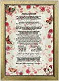PERSONALISED BIRTHDAY GIFT- Unusual Birthday Presents with over 70 Amazing Facts About The Day You Were Born in a beautiful Butterflies & Roses background