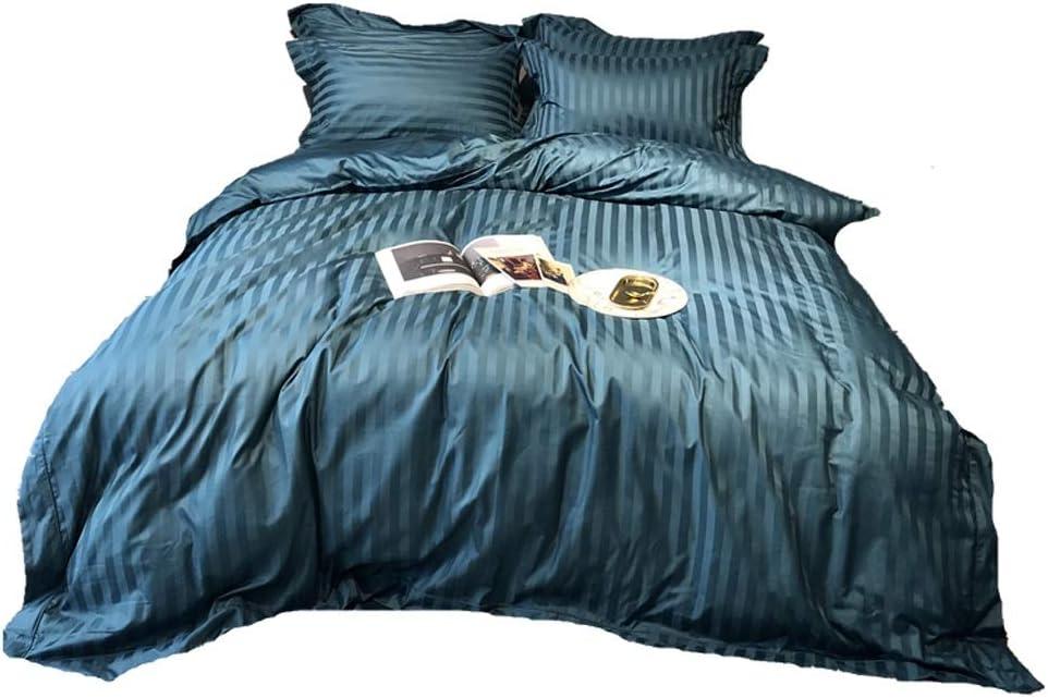 BestBed 寝具4ピース完成ベッドセットX1掛け布団カバーX2ピローケースとX1フィットシート (Size : 1.8 m (6 ft))