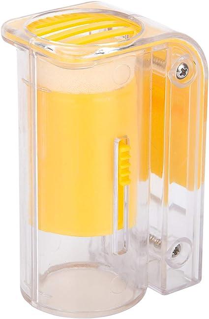 Plastic Queen Bee Marker Bottle Marking Cage Bottle Beekeeper Plunger Equip M6N1