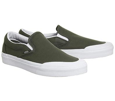 33ca6799cb48 Vans Classic Slip ON 1 Canvas Grape Leaf Unisex Shoes (9 Women   7.5 Men