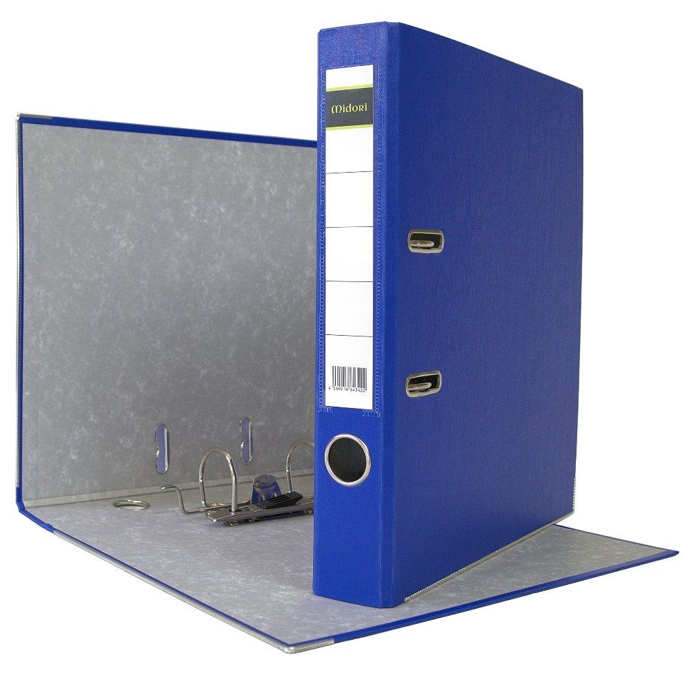 25 x Midori Ordner 5 cm Din A4 A4 A4 aus PP Kunststoff in Blau im A4 Format B01D0BRWS8 | Mangelware  7c4e6a