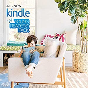 Kindle Young Readers Pack with the latest All new Kindle- Black (MRP Rs 5,999), NuPro slimfit cover for  Kindle  - Blue (MRP Rs 999)