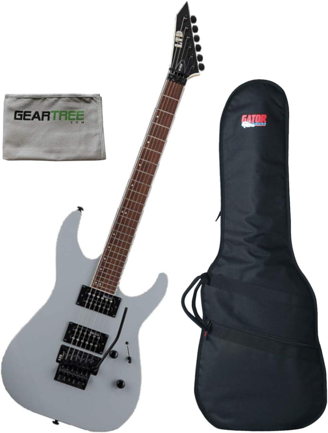 ESP LTD LM200AGRY LTD M-200 - Guitarra eléctrica con bolsa de ...