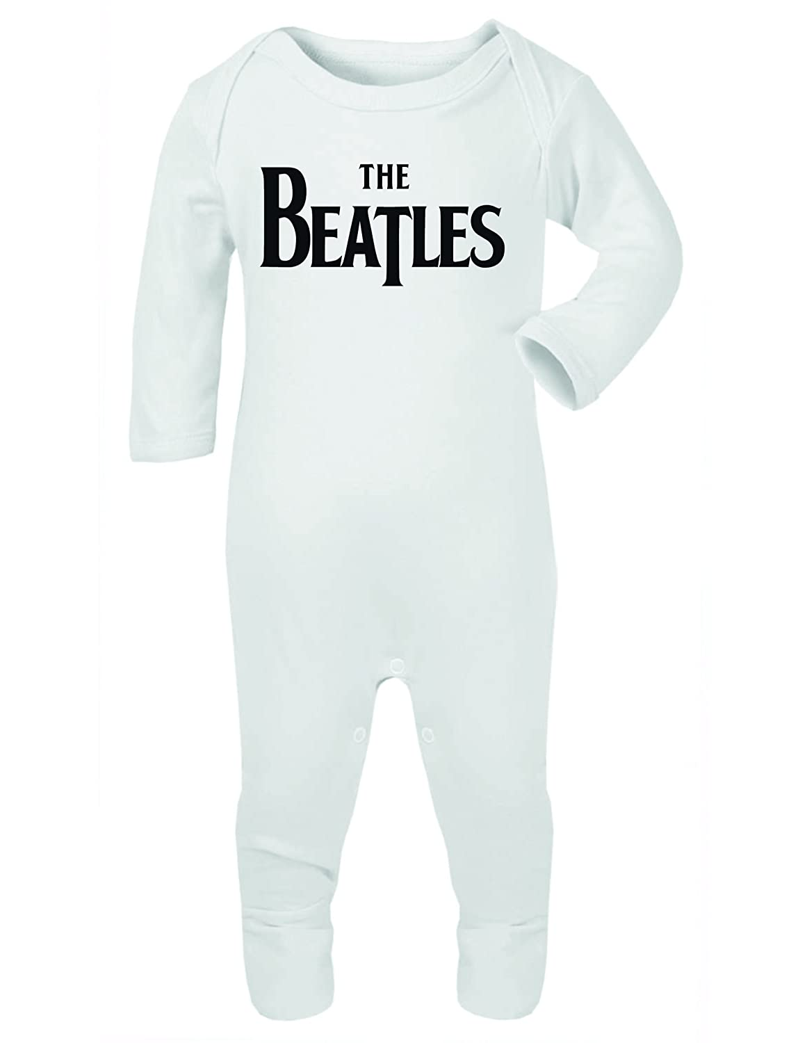 The Beatles Baby Grow Rompersuit Onesie Sleepsuit 3 6 Months White