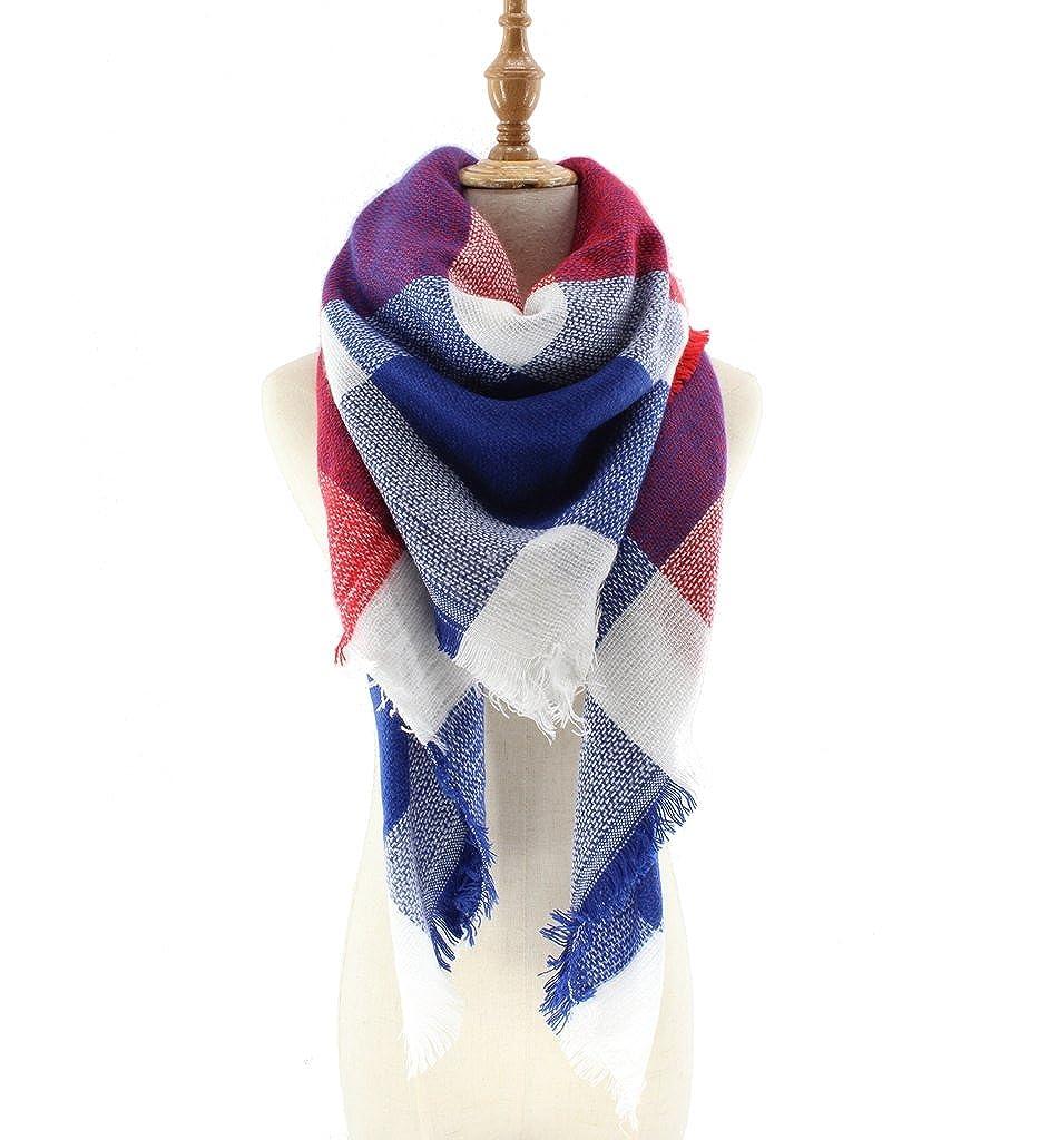 Jiao Miao Warm Blanket Scarves Elegant Soft Scarf Wrap Shawl 161101-beige 161101-01