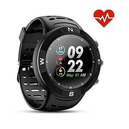 N NEWKOIN Relojes Inteligentes GPS para Deportes al Aire Libre Smartwatch IP68 Sportwatch Impermeable Rastreador de