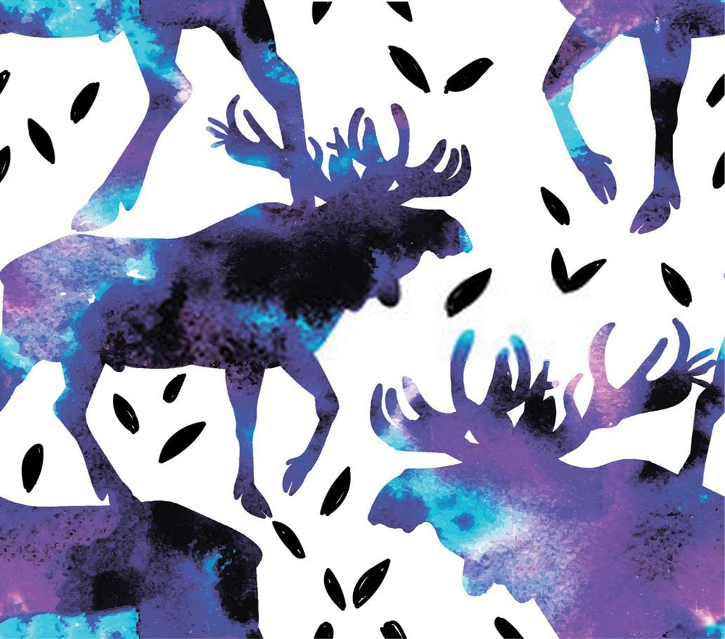 """5D DIY Diamond Painting Kits Elk Moose Vintage Adult Elk Large Antlers Plant Leaves 16"""" X 20"""" Full Drill Painting Arts Craft Canvas for Home Wall D¨¦cor Cross Stitch Gift"""