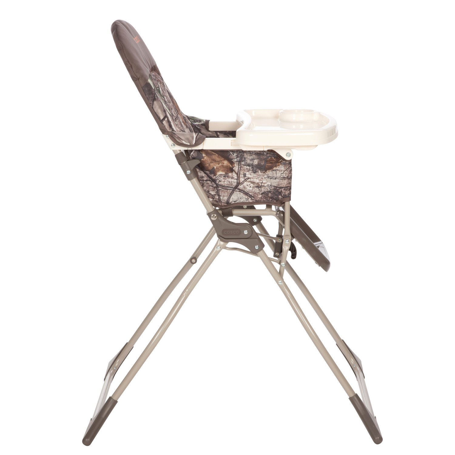 Cosco Simple Fold High Chair, Sets Up in Seconds, Easy to Clean and Pack Away, Realtree by Cosco