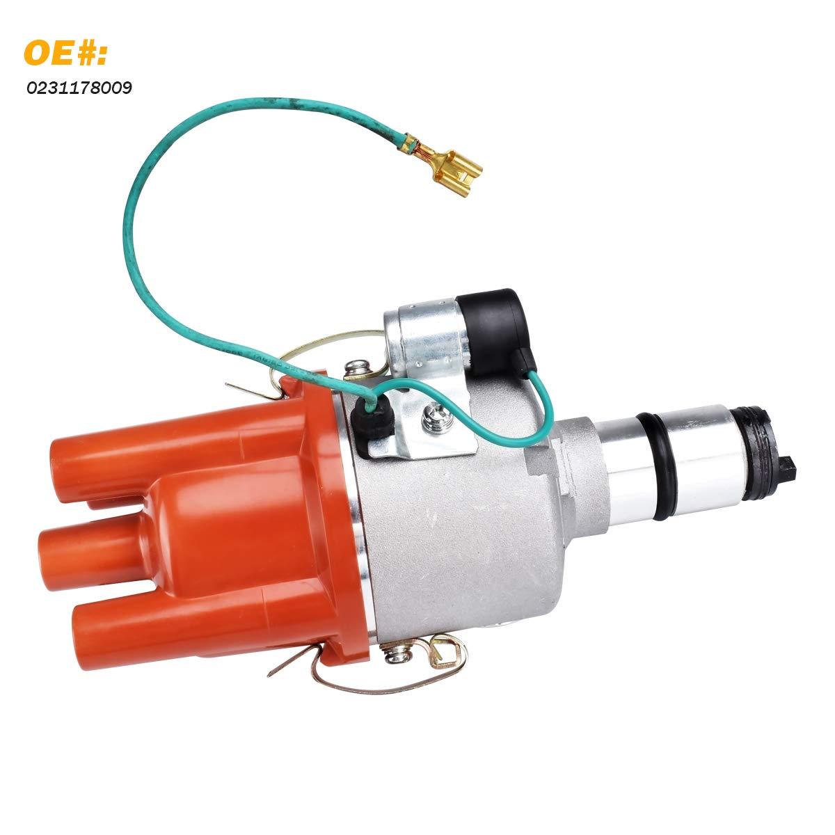 For VW BUG BUS GHIA 009 Beetle CENTRIFUGAL ADVANCE Distributor 0231178009 NEW