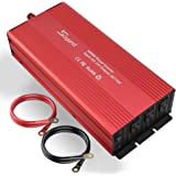 soyond 3000W Power Inverter Modified Sine Wave Converter for Home Car RV with AC Outlets Converter DC 12V in to AC 110V…