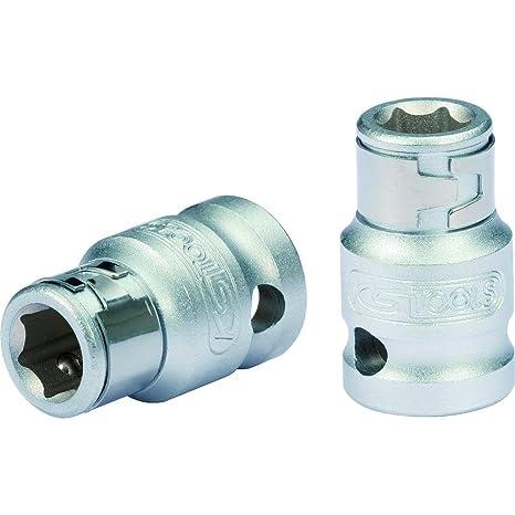 KS Tools - Llave de vaso adaptador para puntas de destornillador (1/4