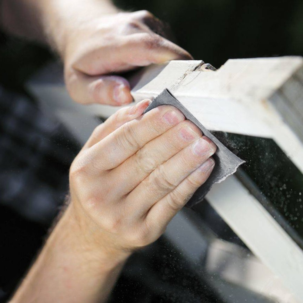 papel de lija Sopplea 45PCS 400 a 3000 Surtido Premium mojado seco lijado de metales y pulido automotriz resistente al agua 9x 3.6 papel de lija para acabado de muebles de madera