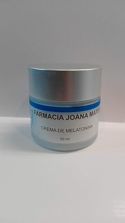 Crema de melatonina