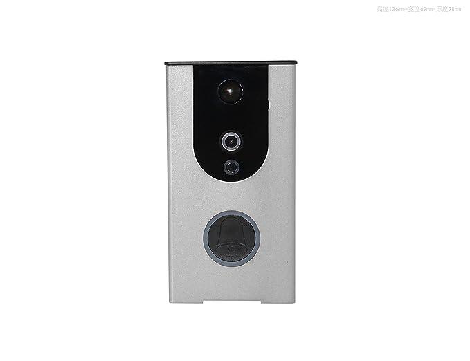 Kit campanello video wi fi senza fili fotocamera di campanello