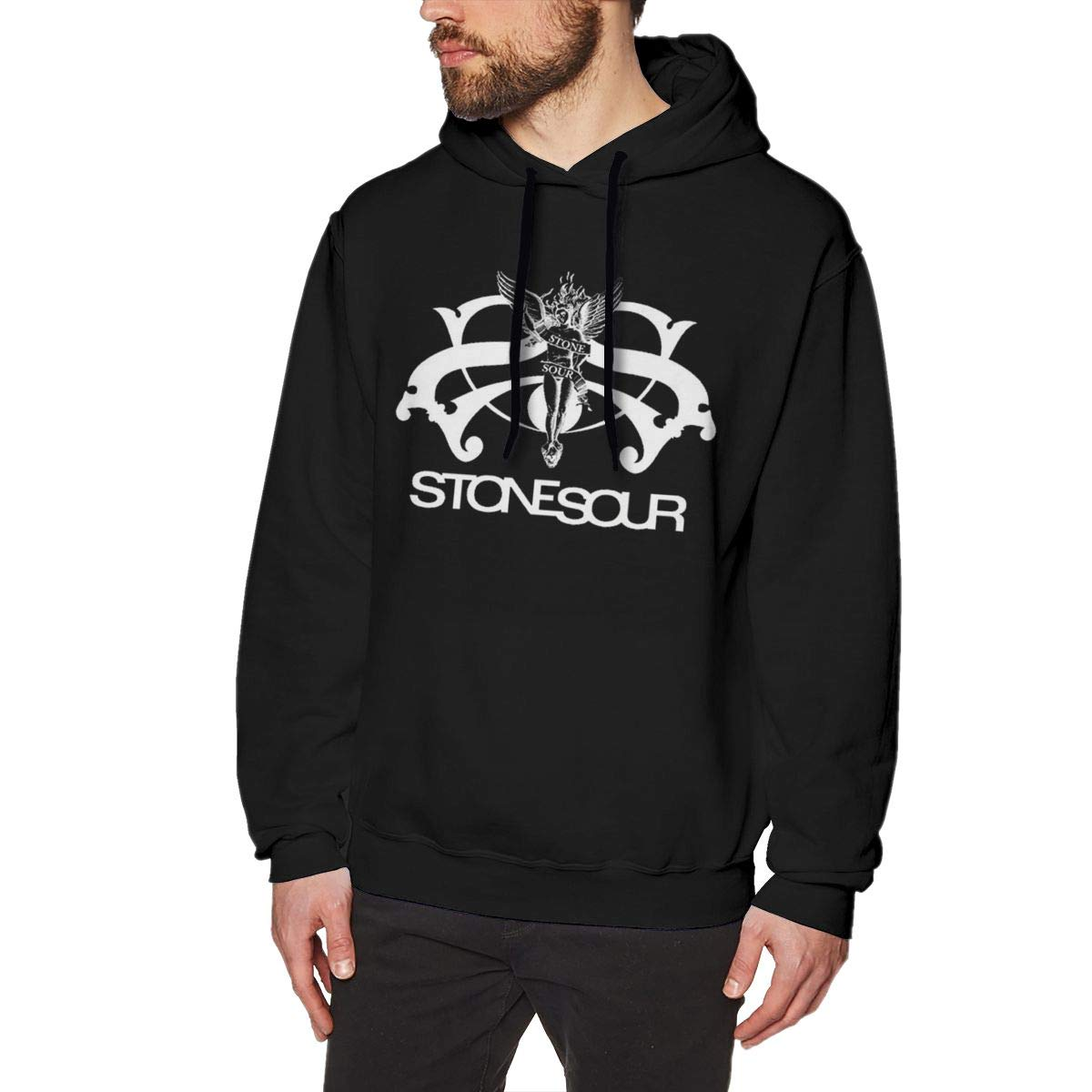 Cumque Stone Sour Classic Sweater Pullove Grafi Hoody Casual Hooded Tops Black Shirts