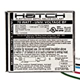 Hatch MC70-1-J-UNNU - 70 Watt - 120/277 Volt - Electronic Metal Halide Ballast - ANSI M98/M139/M143 - Bottom Feed Mounting With Studs