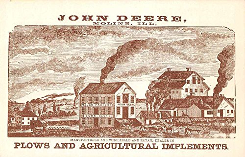 Grand Detour Illinois John Deere Historic Site Advertising Postcard J76912