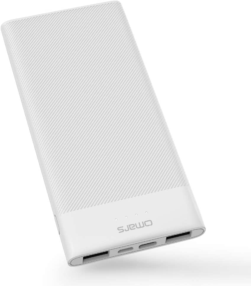 Omars Portable Power Bank, slimline, 10000mAh, 3A USB-C, $9.99 AC