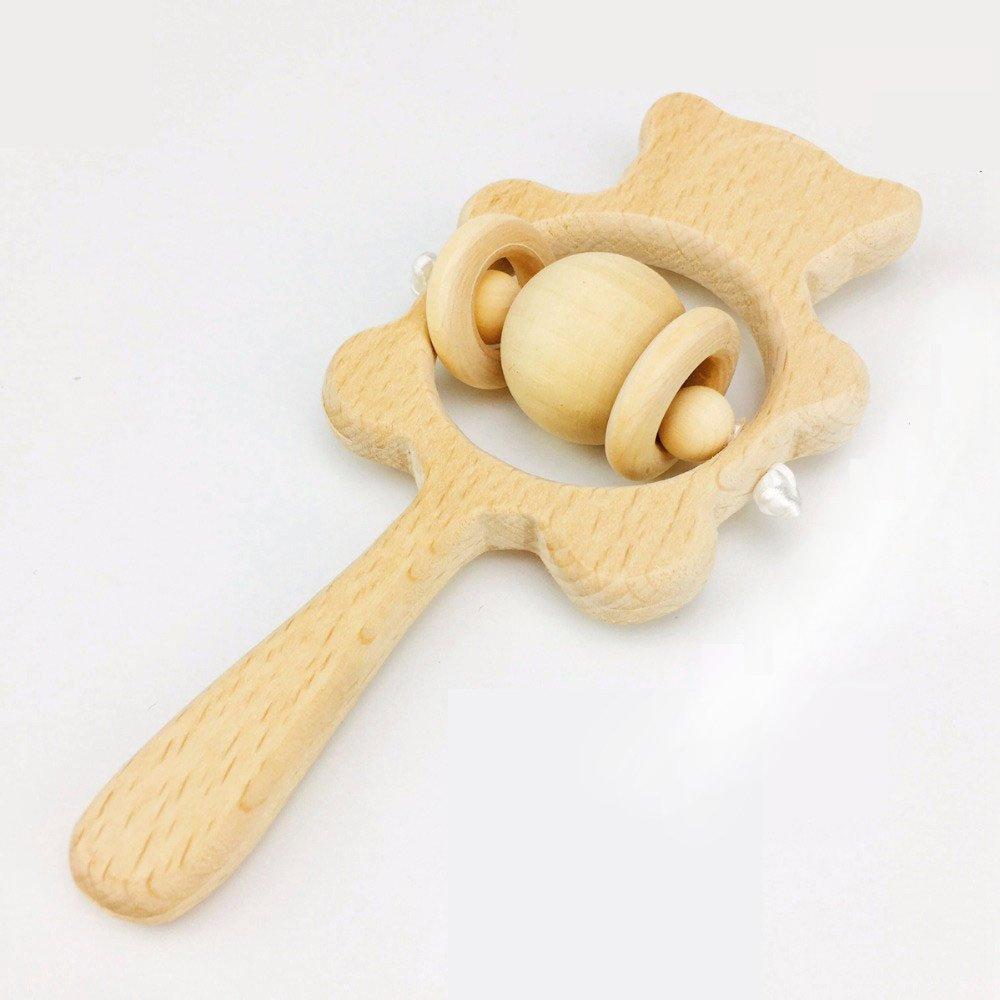 最前線の Baby Wooden Beech Rattle Graspingおもちゃ幼児用Raw Polished B07BHM1WK7 Beech Wood再生ジムChewable Rattle – クリアサウンド Xc-rd001 B07BHM1WK7, SPECCHIO【スペッチオ】:60ebe324 --- a0267596.xsph.ru
