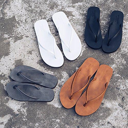 Flops Non ShiyiUP Unisex slip White Sandals Flip Beach Slipper wa5g4q5I