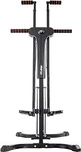Merax Vertical Climber Exercise Folding Climbing Machine for Home Gym Folding Cardio Workout Machine
