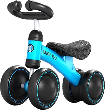 Yavso Bicicleta sin Pedales para Niños 1-3 Año Bicicleta Equilibrio 1 Año Bebe Juguete Regalo de Cumpleaños Navidad Bici sin Pedales, 50 x 35.5 x 23cm: Amazon.es: Deportes y aire libre