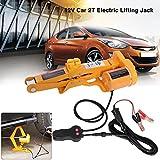 Electric Car Jack-2 Ton Automotive Electric Scissor Lifting Jacks SUV Emergency Equipment with Impact Wrench 12V DC RV Floor Jack