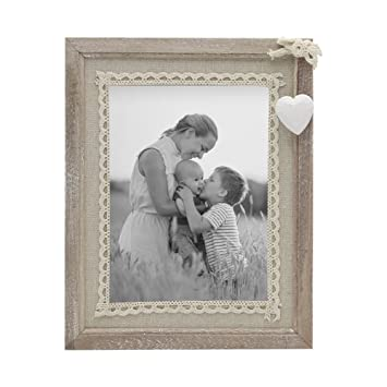 Amazon Sumgar Distressed Wood Picture Frame 5x7 With Wooden