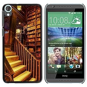 Dragon Case - FOR HTC Desire 820 - Sit quietly for a while - Caja protectora de pl??stico duro de la cubierta Dise?¡Ào Slim Fit