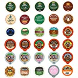 Decaf Coffee Variety Sampler Pack for Keurig K-Cup Brewers, 30 Count