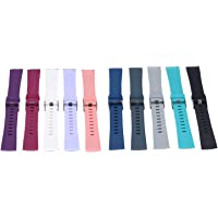 10Pcs Colors Fashion Design Watch Band Sports Silicone Fitness Strap For Fitbit Versa Smart Watch Accessories Wristband