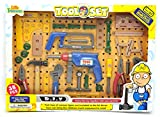 Best Little Treasures 3 Year Old Boy Gifts - Little Treasures Toy Tool Set - With 38 Review