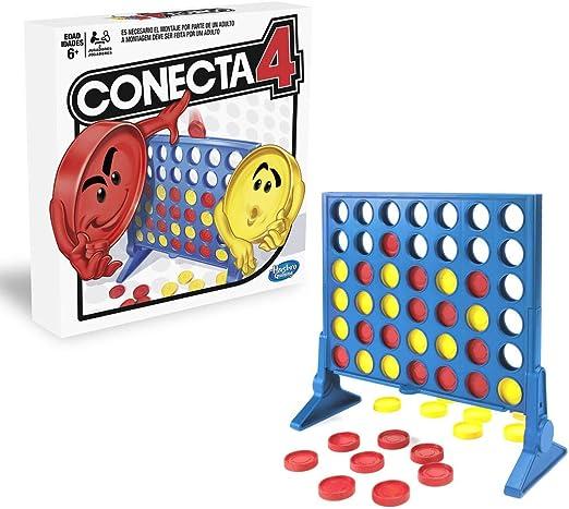 Hasbro Gaming Juego de Habilidad Conecta 4, Multicolor, única (A5640B09): Amazon.es: Juguetes y juegos