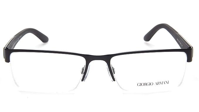 f24ccf5ec500 NEW GIORGIO ARMANI AR 5044 3001 MATTE BLACK EYEGLASSES 55-17-140 ...
