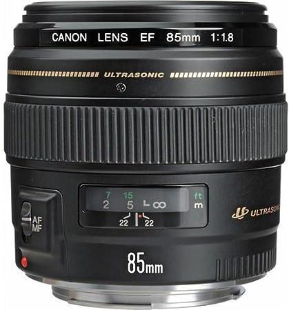 Canon Porträtobjektiv Ef 85mm F1 8 Usm Für Eos Kamera