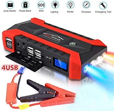 Portable Car Battery Power Booster Jump