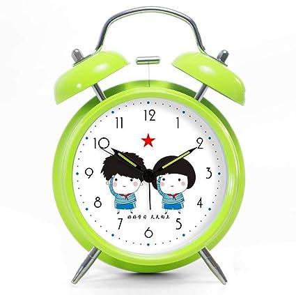 Amazon.com: 4 Inches Alarm Clock, Metal Bells, Large ...