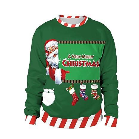 Jojo Christmas Sweater.Amazon Com Jojo Christmas Round Neck Sweater Socks Santa