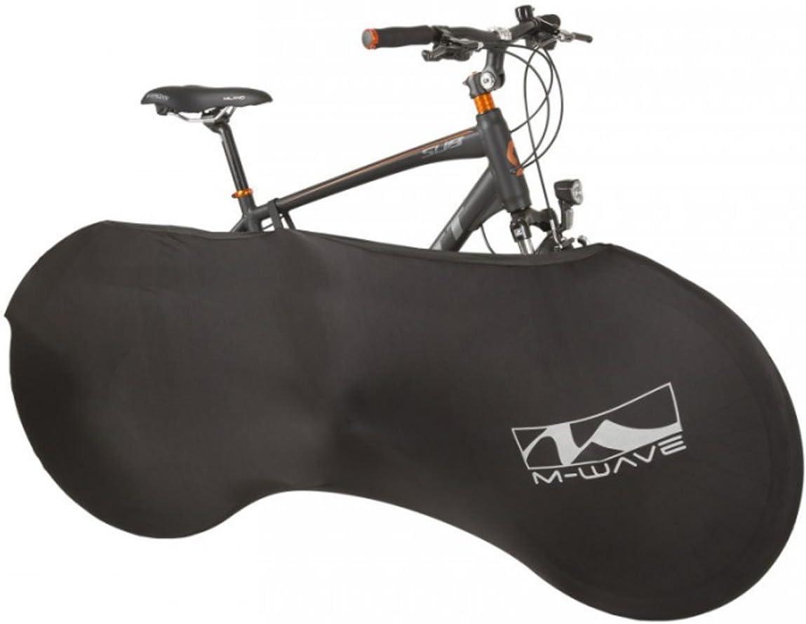 M-Wave 714999.0 Funda Cubre-Bicicleta, Unisex Adulto, Negro, Talla ...