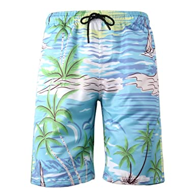 54a3463c8142f Wkgre Men's Swim Trunks 3D Printed Shorts Quick Dry Short Swim Trunks with Mesh  Lining Sports Beach Pants Plus Size S-6XL at Amazon Men's Clothing store: