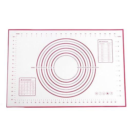 2 opinioni per Tappetini da forno, LoveChef silicone pasticceria Mat antiaderente con Large