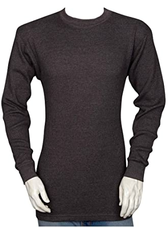 87e763e6cc46c4 Styllion Men's Thermal Shirt - Heavy Weight - Big and Tall & Regular Sizes  (Small