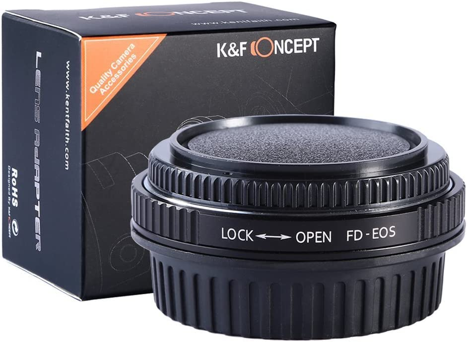 K F Concept Fd Eos Objektivadapter Adapter Canon Elektronik