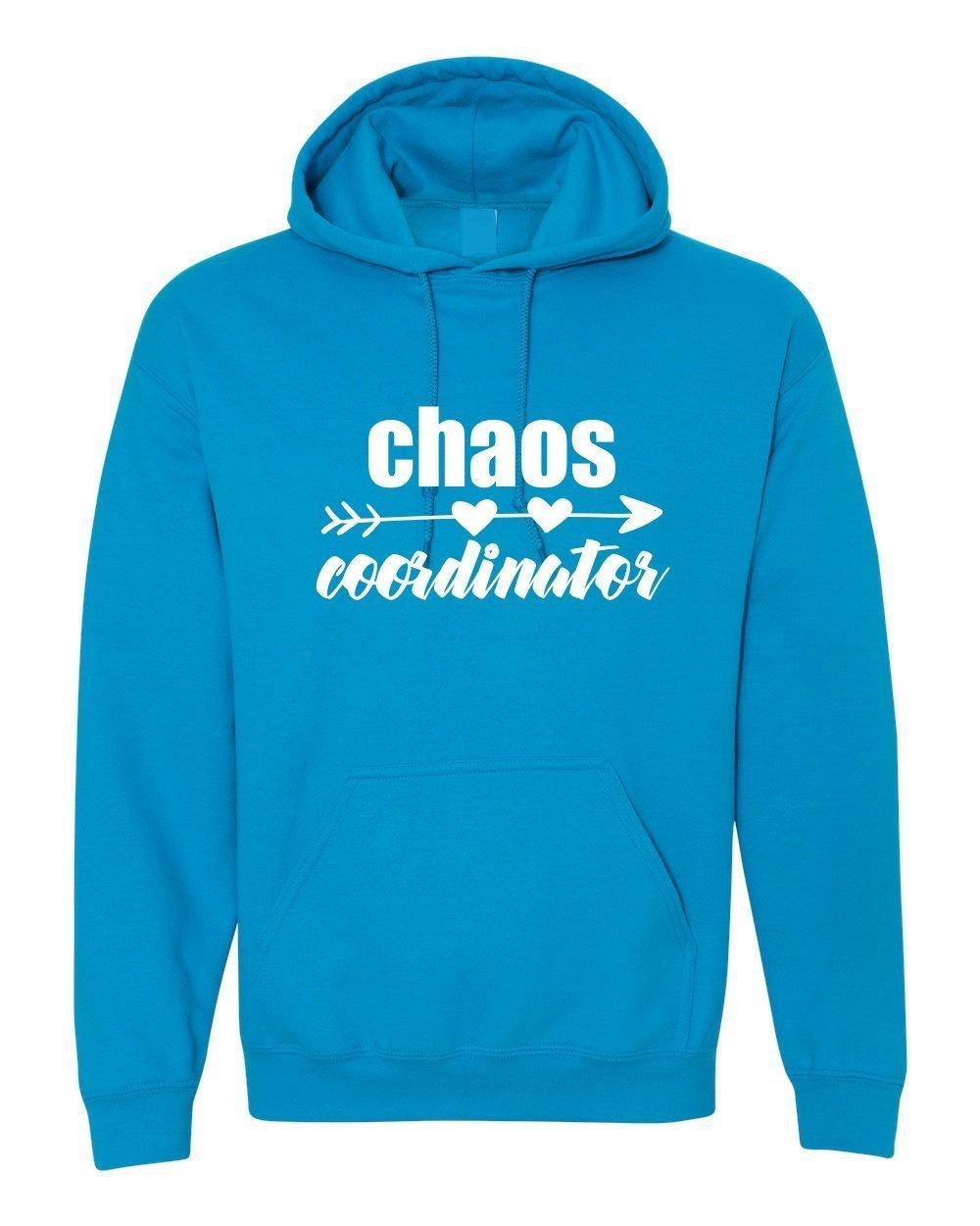 a5306282fd1b Amazon.com  Chaos Coordinator- Warm Heavy Hoodie  Handmade
