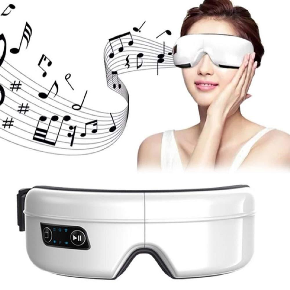 アイマッサージスパ器具、電気空気圧アイマッサージ、音楽ワイヤレス充電式アイリラックスマッサージ、美容ツール   B07QSV9S57