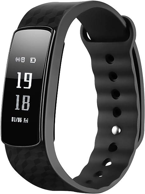 Pulseras Actividad, Mpow Podómetro Pulsómetro Fitness Monitor de ...