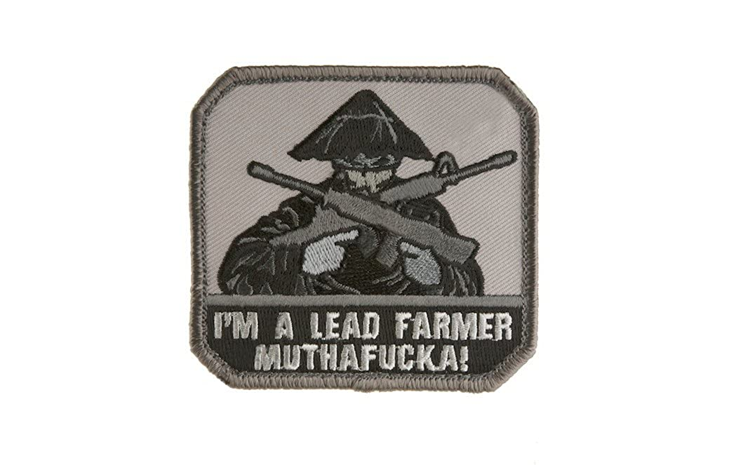 LEAD FARMER ACU MIL SPEC PATCH Mil-Spec Monkey MSM23-ACU-Dark